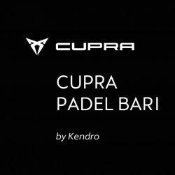 Logo Cupra Padel Bari - By Kendro